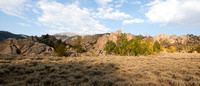 Cottonwood Basin, Granite Meadow, White Mountains - fall colors