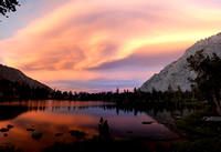 Sierra Sunset near Matlock Lake