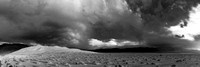 Eureka Sand dunes storm - stitch, black and white