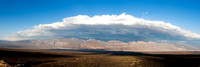 Panamint Mountains and Telescope Peak, panorama